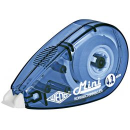 WEDO Korrekturroller Mini, 4,2 mm x 6 m, farbig sortiert