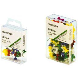 WEDO Pinnwand-Nadeln, farbig sortiert, Kleinpackung