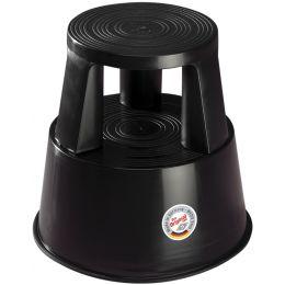 WEDO Rollhocker, aus Kunststoff, schwarz / RAL 9005