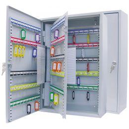 WEDO Schlüsselschrank für 200 Schlüssel, lichtgrau