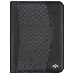 WEDO Tagungsmappe Elegance, DIN A4, Kunstleder, schwarz