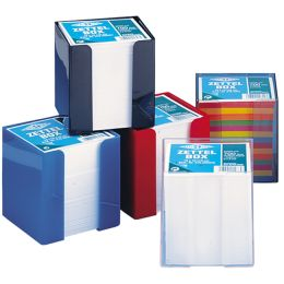 WEDO Zettelboxeinlage, 90 x 90 mm, 6-farbig, 700 Blatt