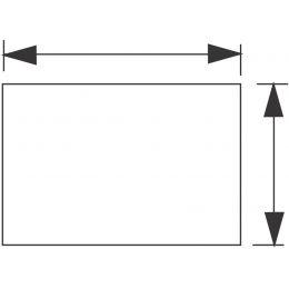 Wellemöbel Arbeitsplatte CONTACT, (B)1.200 mm, reinweiß