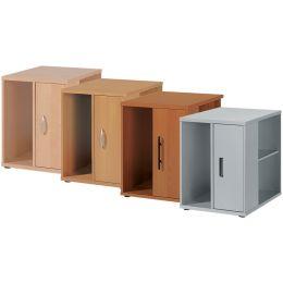 Wellemöbel Standcontainer BÜRO COMBI+ 3, Office grau