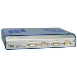 W&T Com-Server Highspeed Office, 4 Port, RJ45 10/100BaseTX