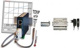 W&T Steckernetzteil 100 - 240 V, 50-60 Hz, 24V/0,22 A DC (D)
