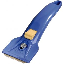 xavax Glaskeramik-Schaber für Glaskeramik-Kochfelder, blau